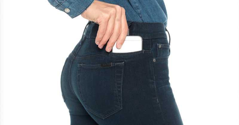 marcas de jeans con espacio para celular