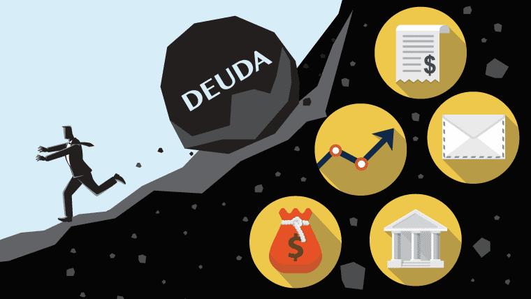 Ilustración sobre la deuda
