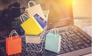 Diferentes compras en línea