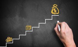 Crecimiento de finanzas