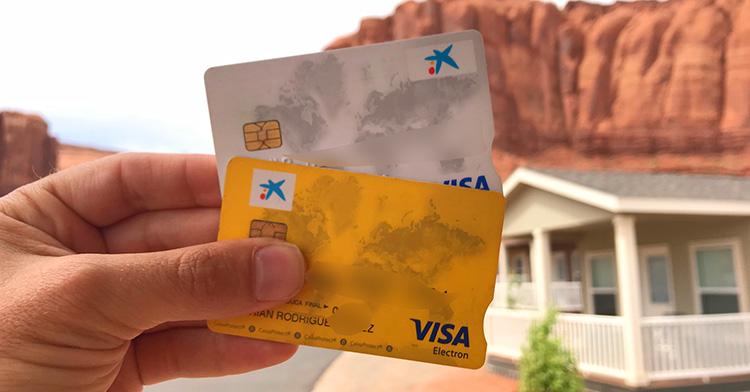 tarjeta de crédito Visa para viajar